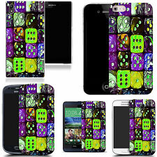 gel case cover for many mobiles  - multi dice  silicone