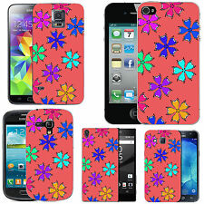 motif case cover for many Mobile phones -  blush colourful falling petals
