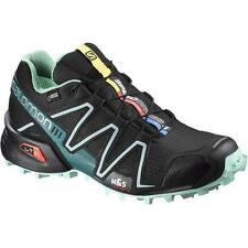 TRAIL RUNNING shoes SALOMON SPEEDCROSS 3 GTX W Black Lucite UK 7 EU 40 2/3