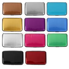 Waterproof Business ID Credit Card Wallet Holder Fashion Aluminum Pocket Case