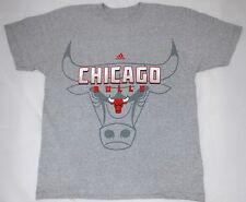 Official NBA licensed chicago bulls basketball team adidas T-shirt