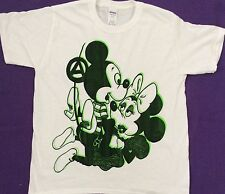 Seditionaries MICKEY MOUSE SEX T-SHIRT Sex Pistols Punk Cartoon Tee ADULT