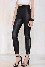 Nasty Gal Against the Machine Leather Skinny Pants $300