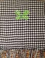 LYME DISEASE AWARENESS BUTTERFLY GREEN RIBBON MONOGRAMMED CASHMERE FEEL SCARF