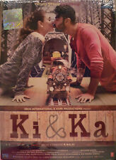 KI & KA - ORIGINAL BOLLYWOOD DVD-  Arjun Kapoor & Kareena Kapoor Khan.