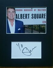 Shane Richie 'Eastenders', hand signed mounted autograph.