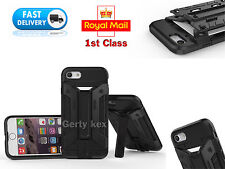 iphone 7 protective armor tpu Bumper shockproof case cover kickstand cardholder