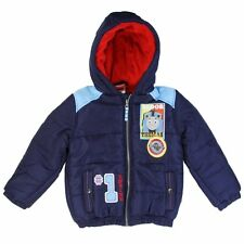 NEW! TODDLER BOYS THOMAS THE TRAIN TANK Puffer Jacket Coat Size 2T, 3T 4T