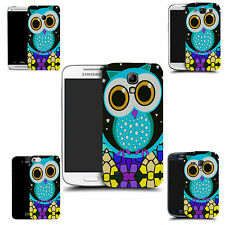 hard case cover for variety of mobiles -  blue owls