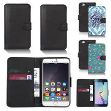 pu leather wallet case cover for many mobiles design ref q70