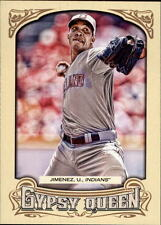 2014 Topps Gypsy Queen #277 Ubaldo Jimenez Card