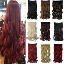 Long Real Thick,17 30 Inch,3/4 Full Head Clip In Hair Extensions,Hair Clips H822