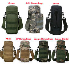 Molle Zipper Camo Water Bottle Utility Medic Pouch Small Mess Pouch War Military