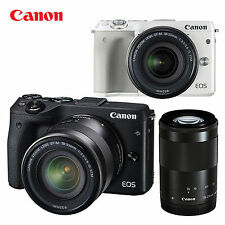 Canon EOS M3 24.2 MP Digital Camera with EF-M 18-55mm F3.5-5.6 IS STM Lens kit