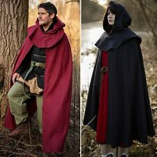 Wool Cloak Perfect For Stage Costume, Re-enactment And LARP