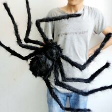 spider halloween decoration haunted house prop indoor outdoor black giant 300mm - Halloween Spider Decoration