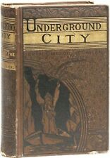 Jules Verne. Underground City; or Child of the Cavern. 1st Am. ed., ca. 1883