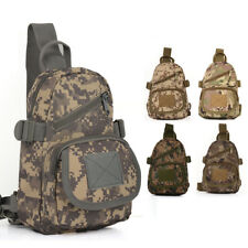 New Shoulder Bag Army Outdoor Backpack Military Tactical Sling Chest Bag Assault