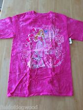 NWT Disney store Women Aurora Tie-Dye T Shirt Top Small Princess