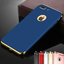 Luxury Ultra-thin Hybrid Electroplate Hard Back Case Cover for iPhone 5/6/7 Plus