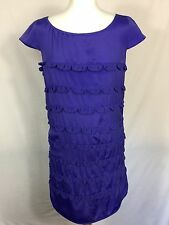 Gorgeous Purple, Sleeveless, Mini Dress By French Connection.. Size 12