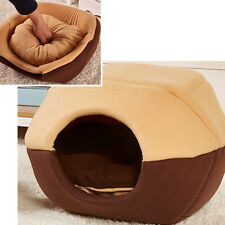 Foldable Soft Puppy Nest Dog Cat Pet Bed Home House Cushion Mat Basket S M L