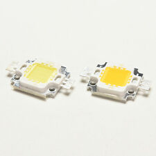 10 PCS New 10W Cool/Warm White High Power 30Mil SMD Led Chip Flood Light Bead C&
