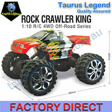 1/10 Large Rock Crawler King 4WD Buggy Rechargeable Remote Control Truck RC Car