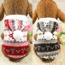 Winter Warm Dog Clothes Padded Coats Pet Clothing for Small Medium Large Dogs