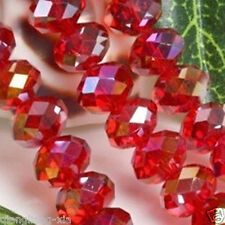 Wholesale Swarovski Crystal Gemstone Loose Beads -Red+AB  A22