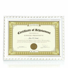 Wooden Photo Picture Frame A4 Certificate University Diploma Frame Poster