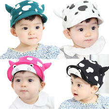 1pcs Child Baby Infant Toddler Beret Sun Cap Cute New Cotton Milk Baseball Hat