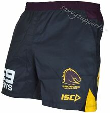 Brisbane Broncos 2017 NRL Training Shorts Adults and Kids Sizes Available BNWT