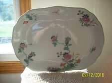 Wood & Son LTD Vintage Dragonfly & Oriental Floral Oversized Serving Platter