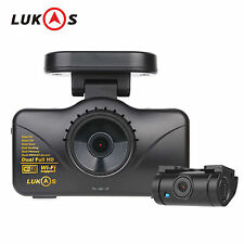Lukas LK-7950 WD GPS Dual Full HD 1920x1080 LED Car Dash Camera Blackbox