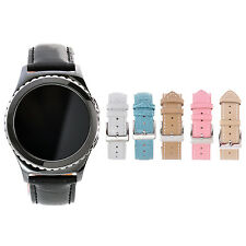 20 mm Alligator Calf Leather Watch Band Strap for Samsung Gear S2 Classic