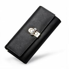 New Fashion Leather Banquet Prom Ball Clutch Bags Conveient Long Wallet Purses
