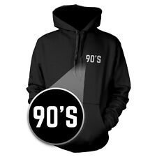 90's Hoodie Pocket Print Warm Hooded Sweatshirt Graphic Sweater