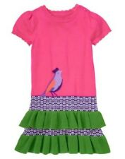 NWT Gymboree Falling for Feathers SZ 5 12 Sweater Ruffle Dress Girls