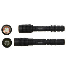 2000LM CREE XM-L T6 LED Zoomable  Flashlight Torch Zoom Focus Lamp Hunting Light