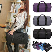 Nylon Waterproof Luggage Travel Shoulder Bags Duffle Gym Bags Tote Bag Handbag