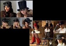New McCalls Sewing Pattern Steampunk Accessories Hats Spats Gloves You Pick