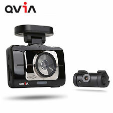 "QVIA R975 WD GPS 3.97"" Full HD 1920x1080 Touch LCD 2CH Car Dash Camera Blackbox"