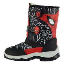 Marvel Spiderman Winter Boots Size 21-32 Boy shoes new