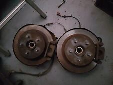 Nissan X trail TA - NT30 2001 model REAR PAIR OF HUBS / BRAKES / DISCS