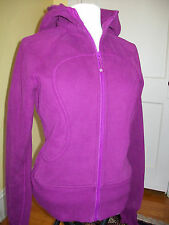 NWOT! Lululemon Scuba Hoodie Jacket size 8 Pretty Reddish Purple Color Violet