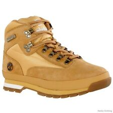 Mens Timberland Euro Hiker Classic Hiking Boots New, Wheat 91566