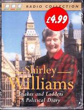 SNAKES & LADDERS by SHIRLEY WILLIAMS Sealed Double Audio Cassette BBC Radio