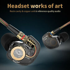 Original KZ 3.5mm In-ear Earphone HIFI Metal Stereo Super Bass Noise Isolation
