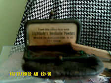 ANTIQUE LEATHER COIN PURSE FREE WITH LIGHTBODYS HEADACHE POWDERS  ROCHESTER N.H